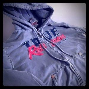 True Religion brand Jean's hoody 3X